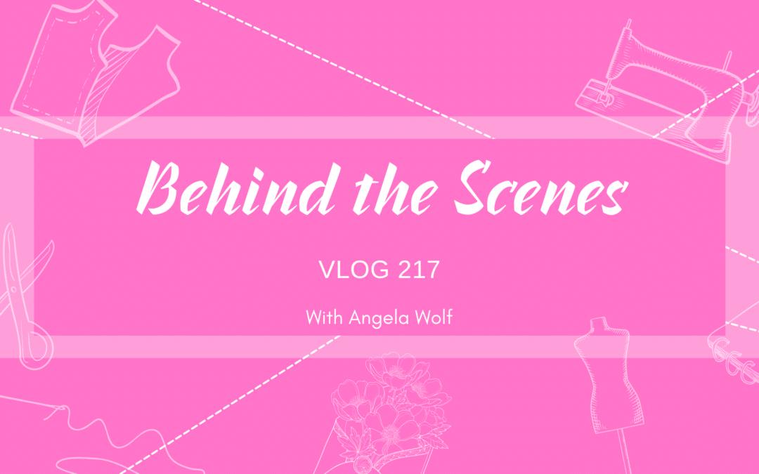 VLOG 217 Behind the Scenes ✂️ Angela Wolf